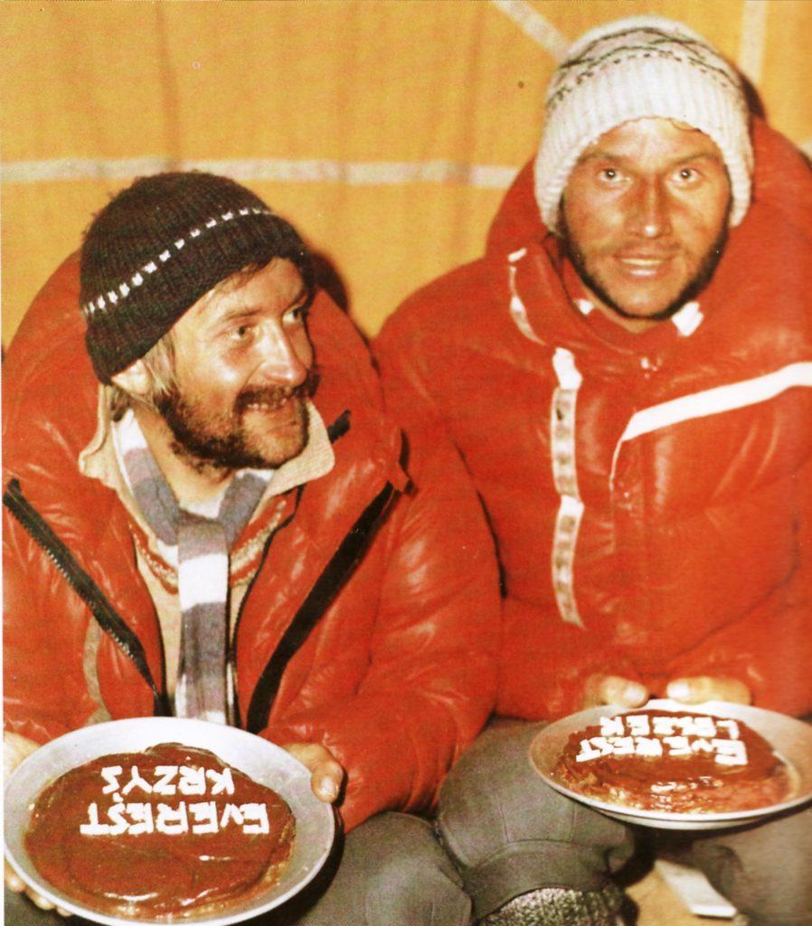 Krzysztof Wielicki e Leszeck Chichy