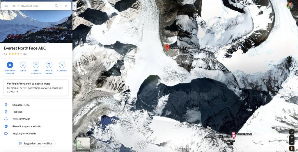 advanced base camp su google maps