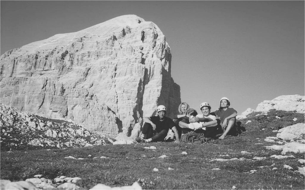 Federico Fratini, Stefano, Alessandra Moret e Lorenza, Dolomiti