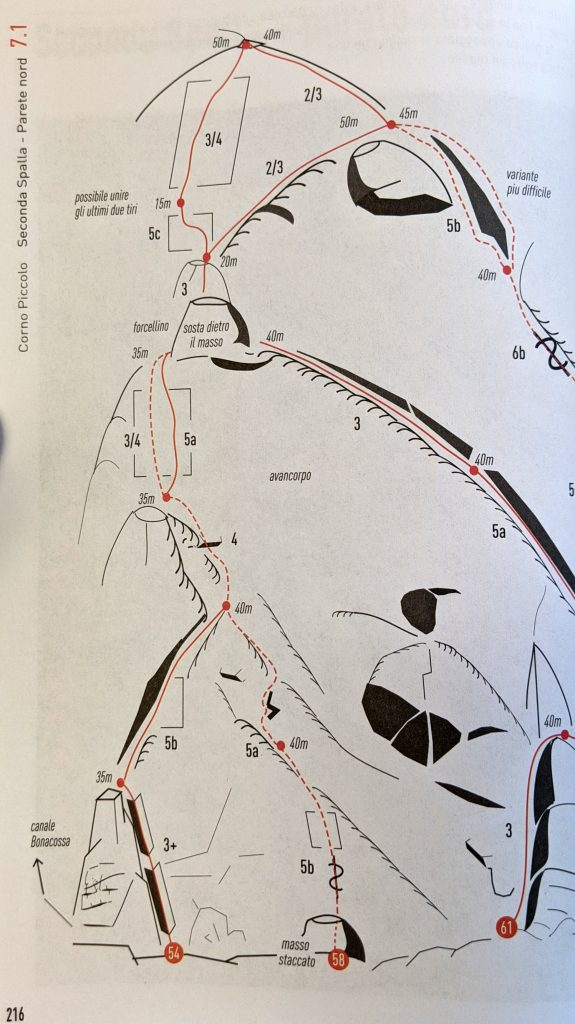 Guida gran sasso Bazzucchi Brutti