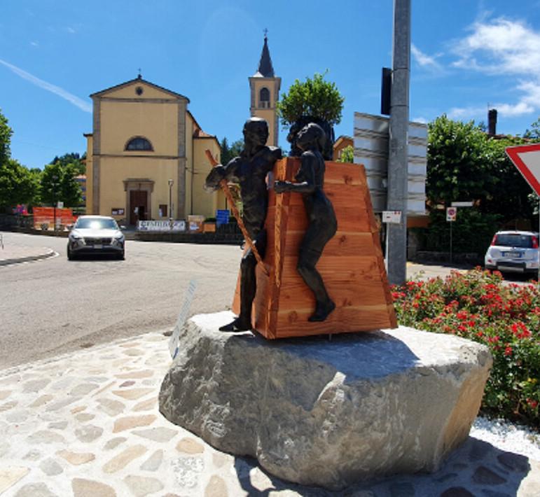 statua madonna dei fornelli
